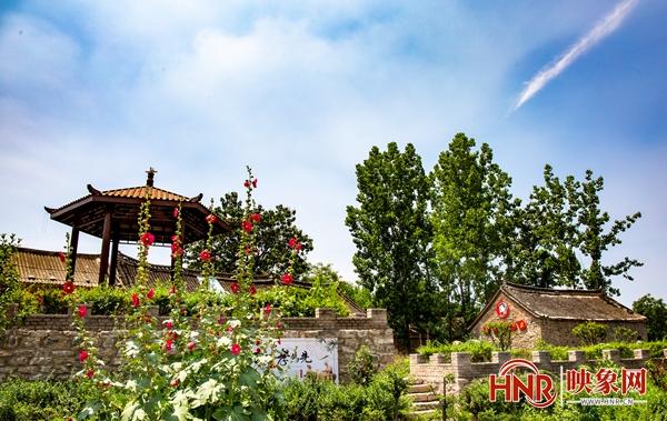 鲁山县:村容村貌焕新颜 美丽乡村入画来