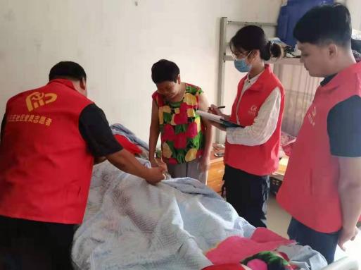 郑州市十八里河街道小王庄社区开展中秋节慰问活动