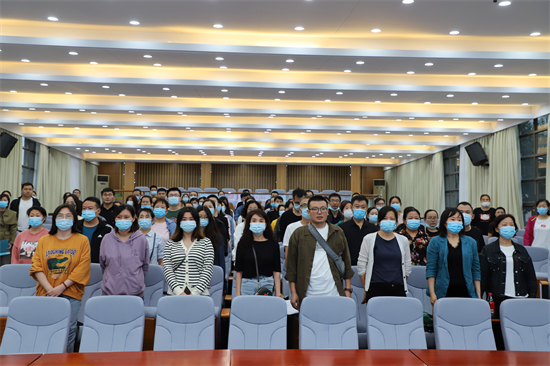 郑州三中召开2021—2022学年度开学典礼暨优秀教师表彰大会