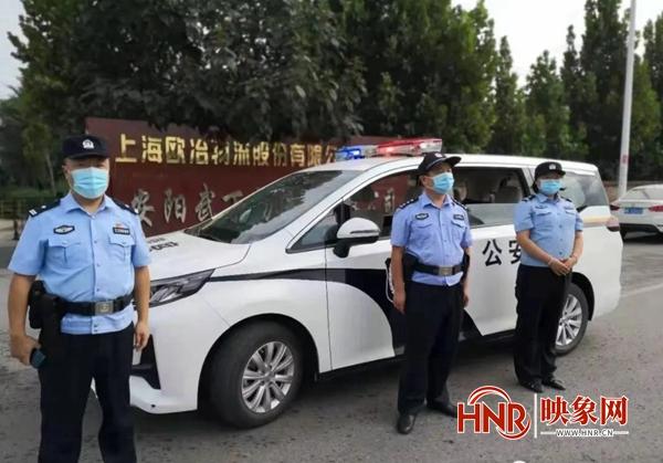 安阳市公安局殷都分局全警集结开展集中清查行动