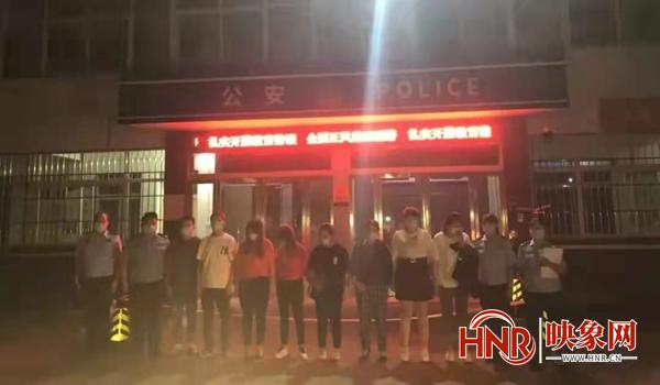 息县多部门联合开展抢险消防综合应急预案演练
