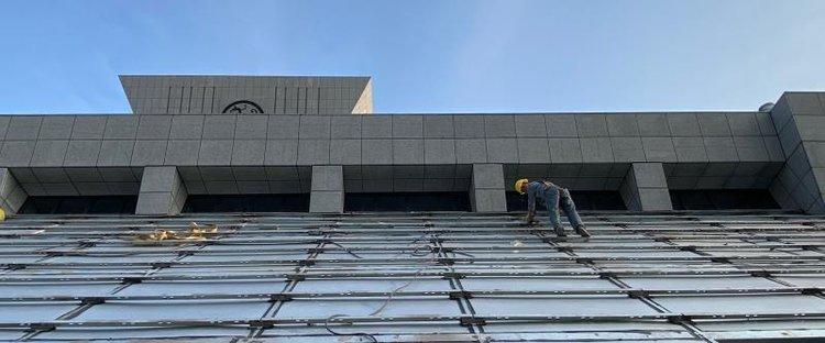 河南博物院主展馆改造提升进入收尾阶段 按计划竣工