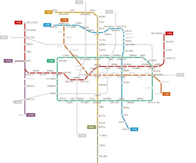 来了!郑州地铁6号线!