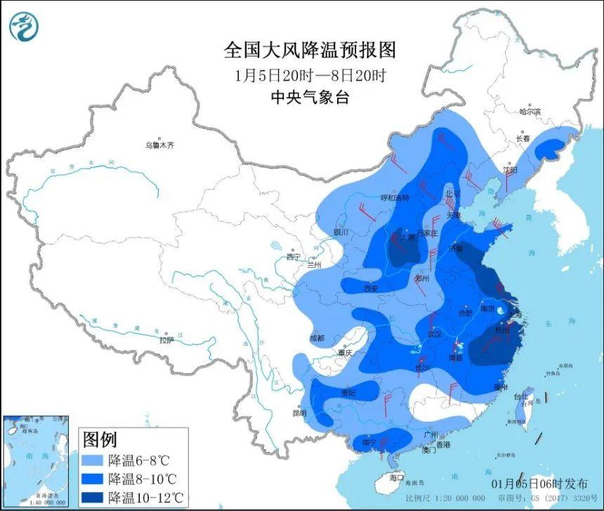 """""""冻""""真格!2021首个寒潮预警发布 河南部分地区降至零下16度"""